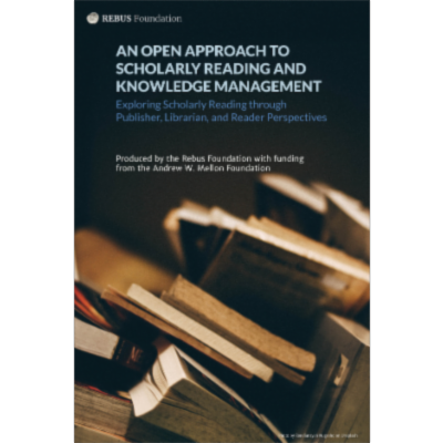 An Open Approach to Scholarly Reading and Knowledge Management icon