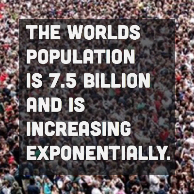 Sustainability and Resilience on Instagram:#worldpopulation #2017 #exponentialincrease #carryingcapacity of #earth is #10billion #humans #population #overshoot and #collapse #2050 icon