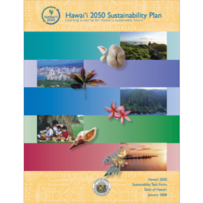 Hawai'i 2050 Sustainability Plan icon