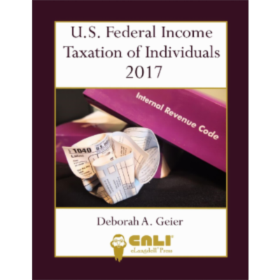 U.S. Federal Income Taxation of Individuals 2017 icon