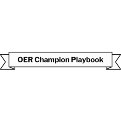 OER Champion Playbook