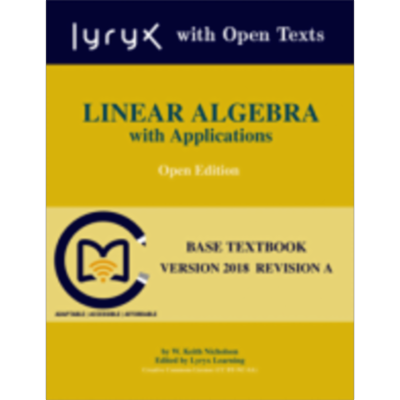 Linear Algebra with Applications: Lyryx icon