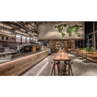 Starbucks is making its stores more sustainable–and wants to help others do the same icon