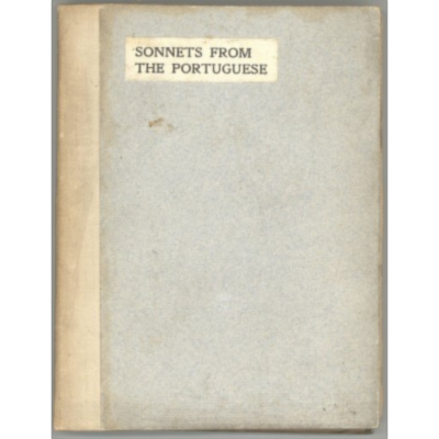 Sonnets from the Portuguese, by Elizabeth Barrett Browning icon