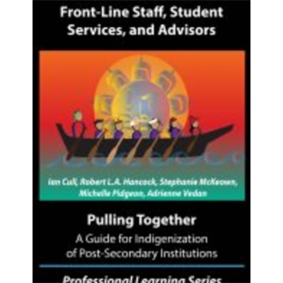 Pulling Together: A Guide for Front-Line Staff, Student Services, and Advisors icon