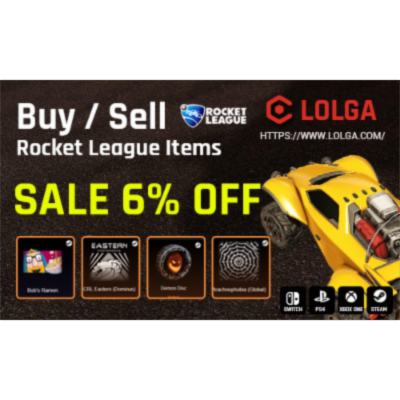 Enjoy the Rocket League With Hot Items icon