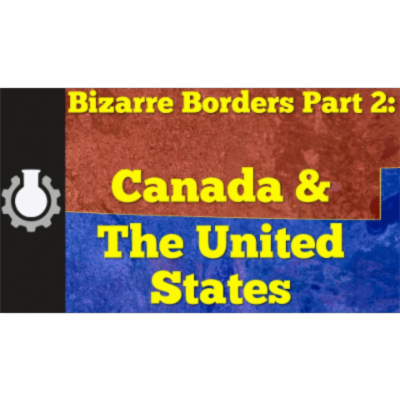 Canada & The United States (Bizarre Borders Part 2) icon