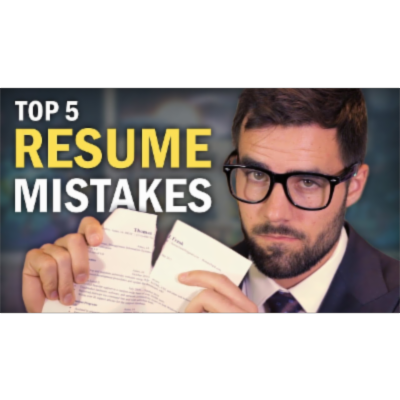 5 Resume Mistakes You Need to Avoid icon