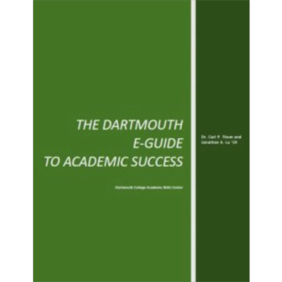 Dartmouth College Study Skills E-Guide To Academic Success icon