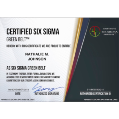 Six Sigma DMAIC Process - Improve Phase - Validate Measurement System - International Six Sigma Institute icon
