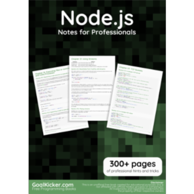 Free Node.js Book icon
