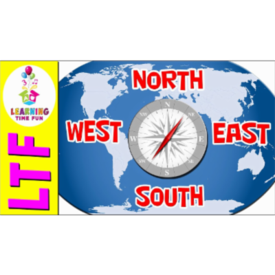 North South East West | Cardinal Directions | Geography for Kids | Geography Games icon