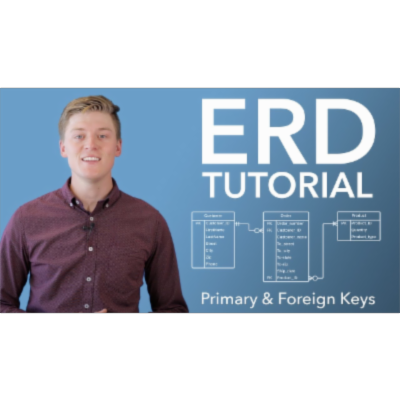 Entity Relationship Diagram (ERD) Tutorial (Part 2 - Advanced) icon