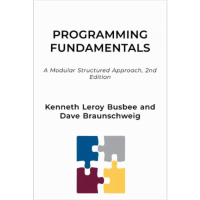 Programming Fundamentals - A Modular Structured Approach, 2nd Edition icon