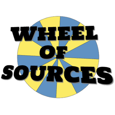 Wheel of Sources: Primary and Secondary Sources