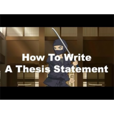 Writing Ninjas: How To Write A Strong Thesis Statement icon