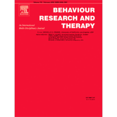 Comparing outcomes for children with different anxiety disorders following cognitive behavioural therapy icon