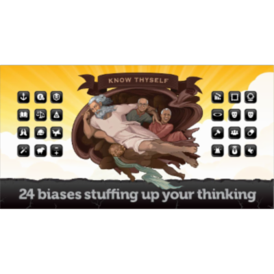 24 biases stuffing up your thinking icon