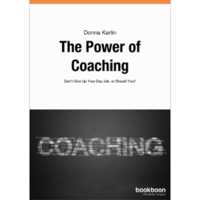 The Power of Coaching - Don't Give Up Your Day Job, or Should You? icon