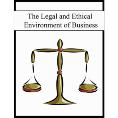 The Legal and Ethical Environment of Business icon