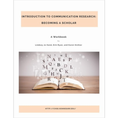 Introduction to Communication Research: Becoming a Scholar icon