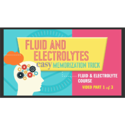 Fluid and Electrolytes: Easy Memorization Tricks for Nursing Students (FULL VIDEO) icon