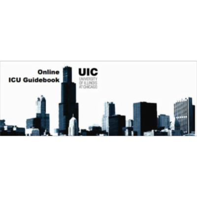 Online ICU Guidebook_College of Medicine at Chicago icon