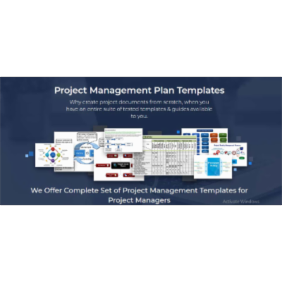 All you need for Project Management Plan icon