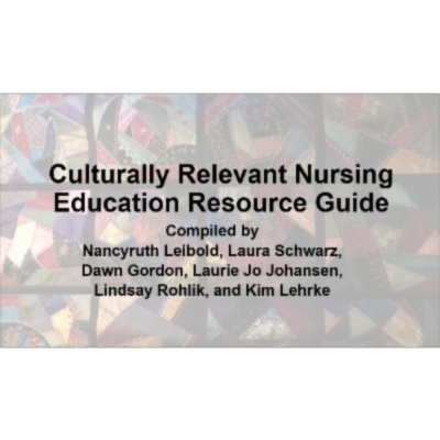 Culturally Relevant Nursing Teaching Resource Guide icon