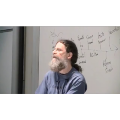 "Robert Sapolsky's Edutaining ""Human Behavioral Biology"" icon"