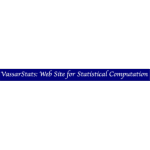 VassarStats: Website for Statistical Computation icon