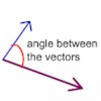 Angle Between Two Vectors Defined icon