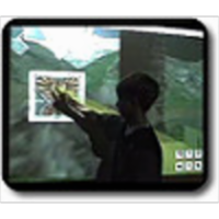 3D virtual environments for your Interactive whiteboard icon