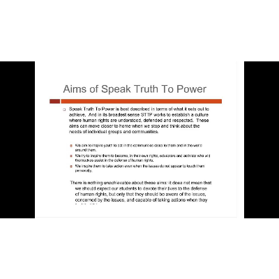 Speak Truth to Power icon