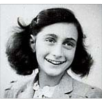Anne Frank and the second world war guide. icon