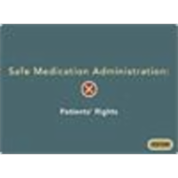Safe Medication Administration:  Patients' Rights icon