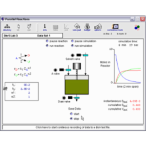 SimzLab - interactive simulations of chemical processes icon