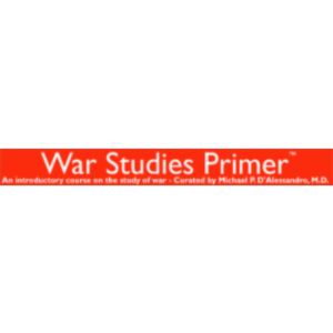 War Studies Primer - an introductory course on the study of war and military history icon