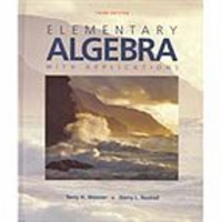 Elementary Algebra with Applications, 3rd ed. icon