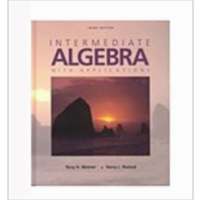 Intermediate Algebra with Applications, 3rd ed. icon