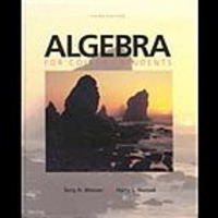 Algebra for College Students, 3rd ed. icon