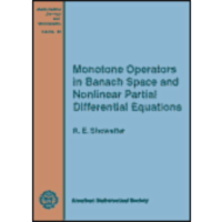 Monotone Operators in Banach Space andNonlinear Partial Differential Equations icon