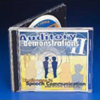 Auditory demonstrations: Challenges to Speech Communication