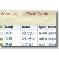 Kuizu - Japanese vocabulary quizzer icon