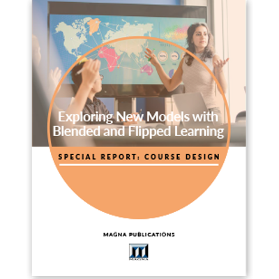Exploring New Models with Blended and Flipped Learning icon