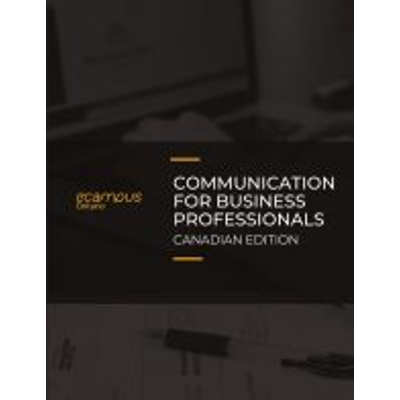 Communication for Business Professionals - Canadian Edition icon