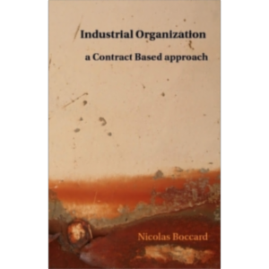Industrial Organization: a Contract Based approach icon