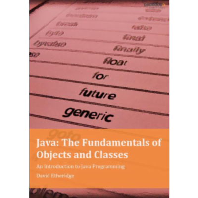 Java: The Fundamentals of Objects and Classes - An Introduction to Java Programming icon
