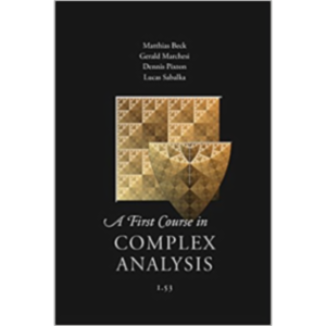 A First Course in Complex Analysis icon