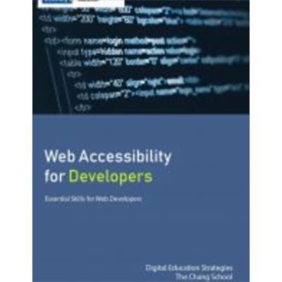 Web Accessibility for Developers icon